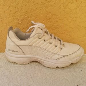 REEBOK White Dad Athletic Shoes Sneakers Size 8.5